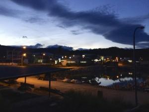 Sunset at Dawu