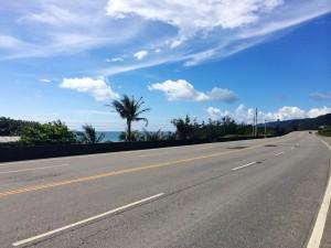 Sea level at the east coast