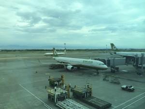 My plane to Tokyo