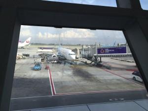 My plane to Delhi