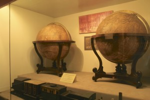 Globes at the Thai National Museum