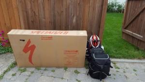 My saddle bags and bike