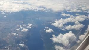 Flying near Kelowna