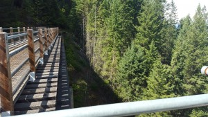 The trestle...