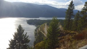 High Above Christina Lake