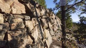 Italian stone mason wall