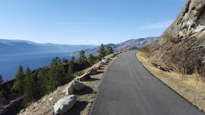 Paved trail!