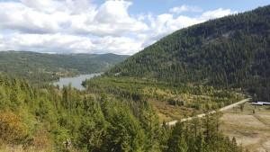 View of Chain Lake