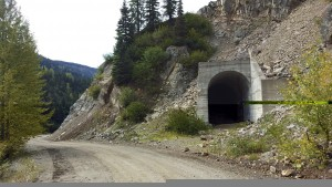 Bypassed tunnel